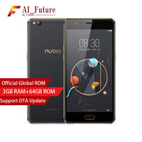 Global Version ZTE Nubia M2 LITE Mobile Phone 3GB RAM 64GB ROM MT6750 Octa Cor Camera
