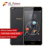 Global Version ZTE Nubia M2 LITE Mobile Phone 3GB RAM 64GB ROM MT6750 Octa Cor Camera