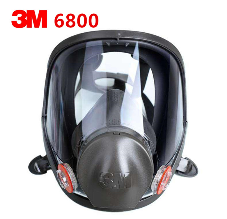 3M 6800 Gas mask Medium Full Facepiece Reusable Respirator