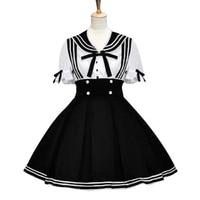 Sailor Lolita Dresses Vintage Women Dress Lolita Clothing Costumes