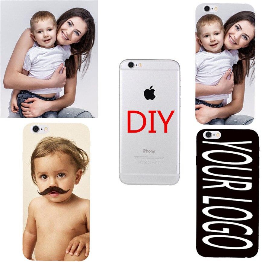 OEM DIY anpassad telefon Coque för Huawei Honor 3C 3X 4X 4C 5X 6X 6 - Reservdelar och tillbehör för mobiltelefoner