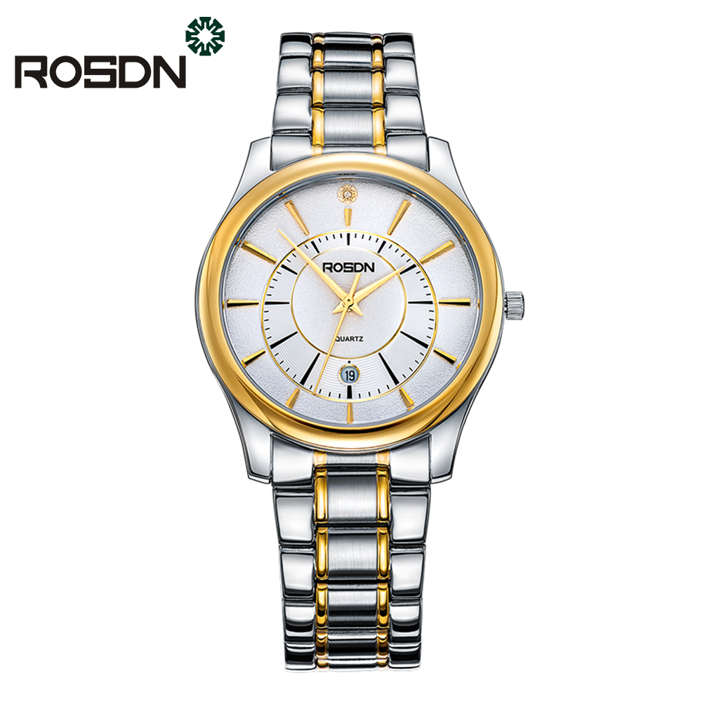 RSDN Brand New Men Luxury Quartz Watch Classic Fashion Watches Stainless Steel Sapphire Waterproof wrist watch Relogio Masculino new lancardo luxury brand men gold watches men quartz watch stainless steel men fashion casual wrist watch relogio masculino