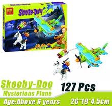 Bela 10429 Scooby Doo Mummy Museum Mysterious Plane Minifigures Building Block Minifigure Toys Compatible Legoe
