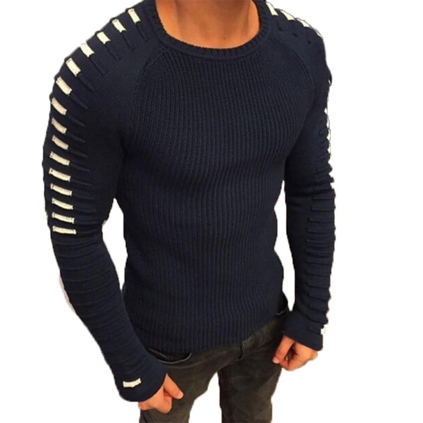 Autumn Winter Men Turtleneck Sweater Fashion Mens Sweaters