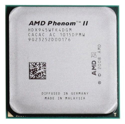 AMD Phenom II X4 945 3.0 ГГц L3 = 6 МБ четырехъядерный процессор разъем AM3 938-pin ЦП