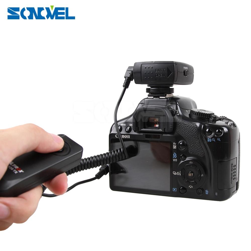 Wireless Remote control Shutter Release For Canon EOS 1300D 1200D 1100D 1000D 800D 760D 750D 700D 650D 600D 550D 80D 77D 70D 60D