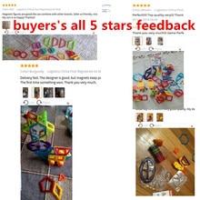 NEW klocki Magnetic Toy Constructors Building Blocks Sets Designer Magnet Educational Kids toddler Toys for kids brinquedos Gift