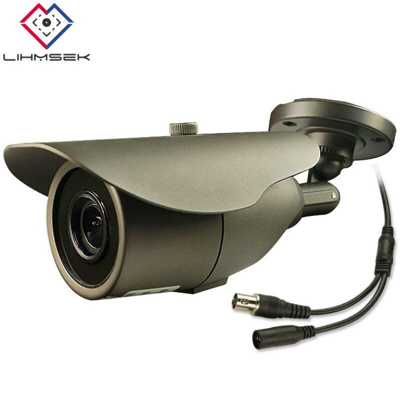 Lihmsek Surveillance Cam 2 8 12mm Vari focal Lens Outdoor Low Lux Day and Night Color