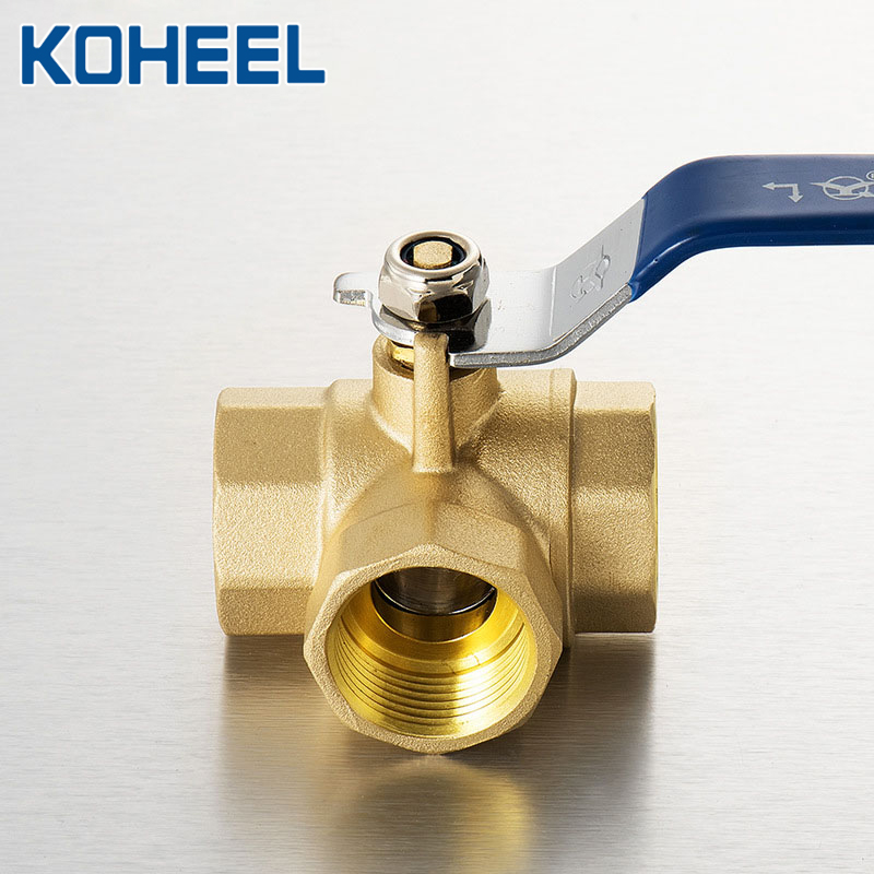 L type three way ball valve All Brass Ball Valve Trunnion Mounted Ball Valve