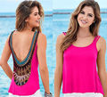 Blusas Ladies Clothes 2016 Sexy Fashion Women Summer Loose Sleeveless Casual Tank T-Shirt Blouse Tops Vest blusas crop top