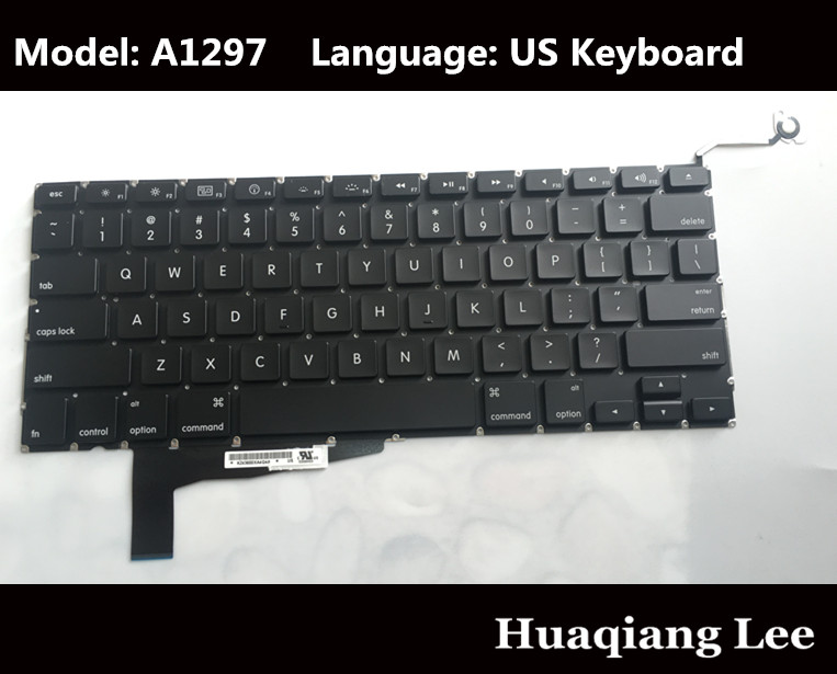 "Danish Keyboard Backlit for MacBook Pro 15/"" A1286 2009 2010 2011 2012 Unibody"