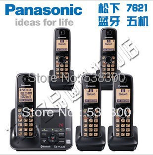 kx tg7621 dect 6 0 link to cell via bluetooth cordless phone with rh aliexpress com Panasonic Kx tg7874s DECT 6 0 Manual Panasonic 6.0 Plus User Manual