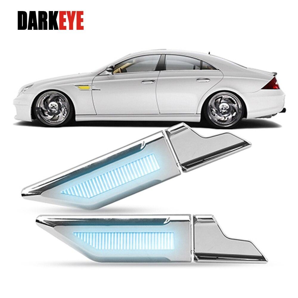 1Pair DRL Car LED Daytime Running Lights White Ice Blue turn signal light Yellow back up