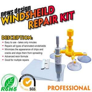 Image 3 - Auto Styling Voorruit Reparatie Kits Autoruit Glas Kras Voorruit Crack Herstellen Hars Sealer Diy Auto Reparatie Tool Poling