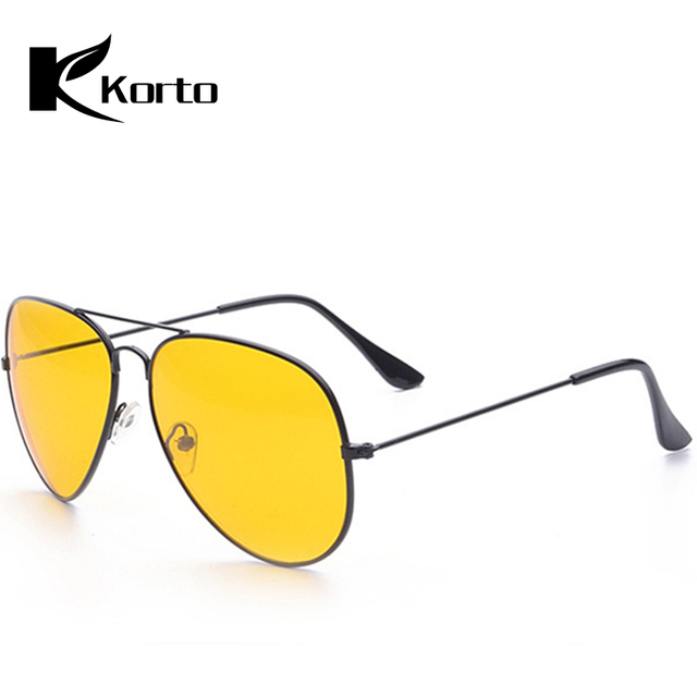 6aea8d883 Zonnebril Dames Yellow Driving Sunglasses for Men Oversized Pilot Eyewear  Aviation Glasses 70S 80S 90S Vintage Women Eyeglasses