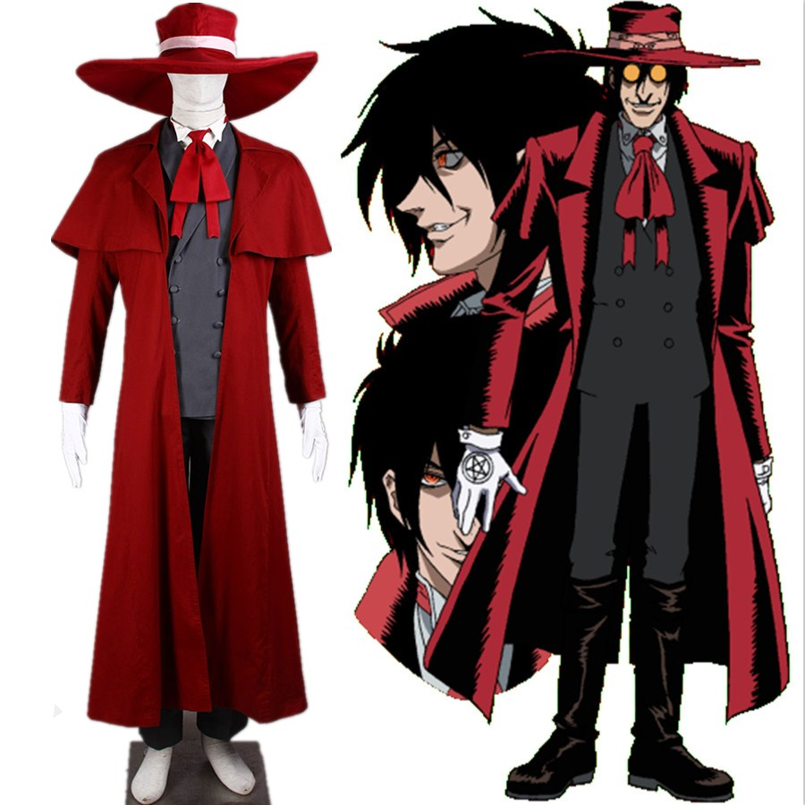 Alucard Pics us $107.92 20% off hellsing alucard outfit cosplay costume-in anime  costumes from novelty & special use on aliexpress