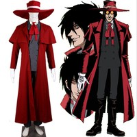 Hellsing Alucard Outfit Cosplay Costume