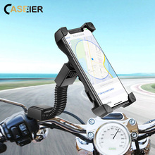 CASEIER Phone Holder Stand In Bike For Xiaomi Redmi 6A Note 7 6 Support Adjustable Moto GPS Universal