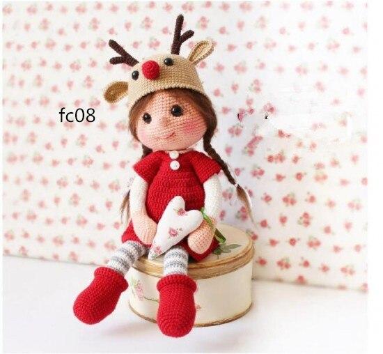 Amigurumi boneca do amor pouco fox com vestido crochet guizo ... | 508x550