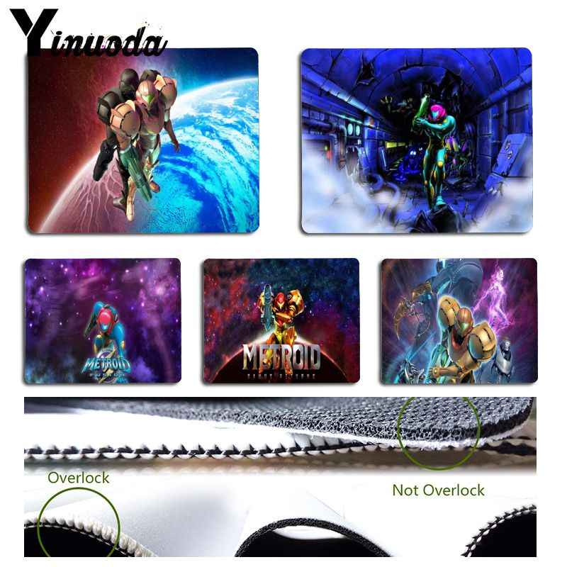 Yinuoda Funny metroid fusion samus  Pad to Mouse Game Size for 180x220x2mm and 250x290x2mm Small Mousepad