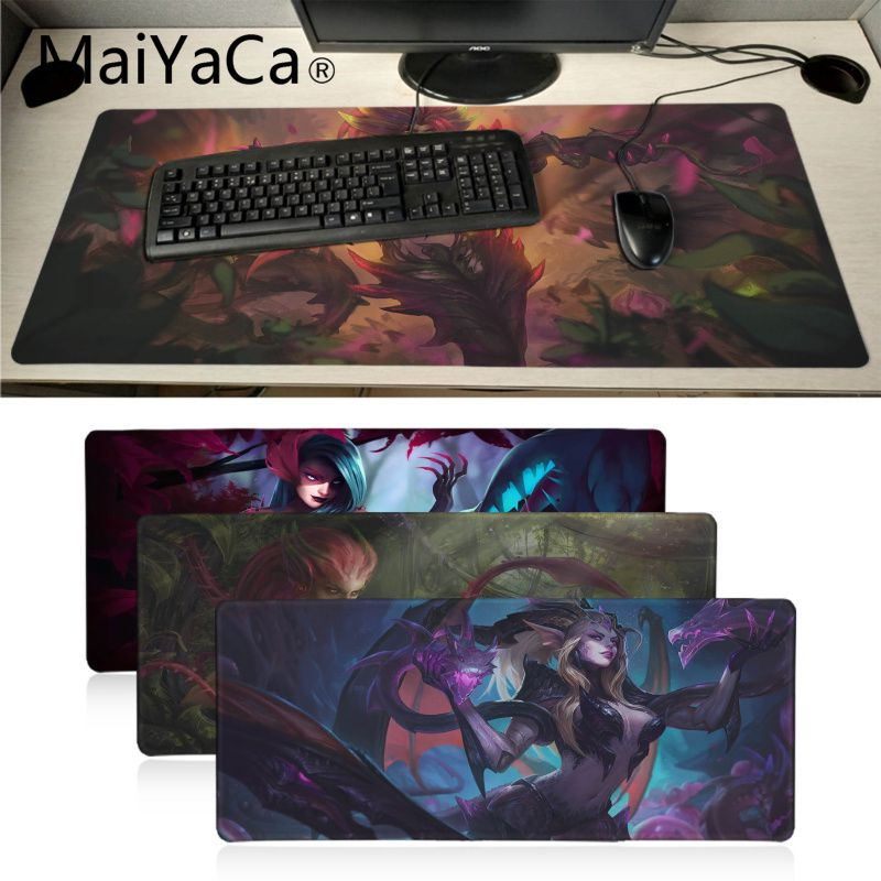 Gaming Mouse Pad League of legen Dragon Sorceress Zyra  PC Laptop large size