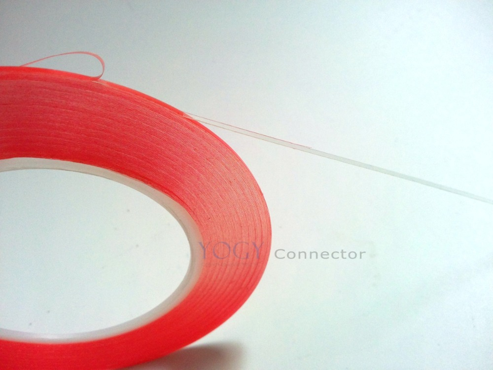 1x (0.2mm Thick) 7mm *25M Strong Clear Acrylic Double Adhesive Tape for Cellphone Camera LCD Glass Battery Bond