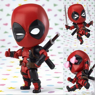 NEW hot 10cm Q version Super hero X-Men Deadpool action figure toys collection Christmas gift doll with boxNEW hot 10cm Q version Super hero X-Men Deadpool action figure toys collection Christmas gift doll with box