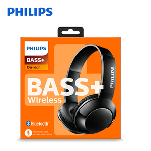 Image 5 - Philips Bluetooth Headset Earphone Wireless Headphones SHB3075 Volume with Microphone Control for  Galaxy Note 8 XiaoMI Hua Wei