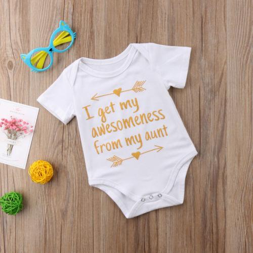 Summer Newborn Infant Baby Boys Girls Sunsuit Bodysuit Jumpsuit Clothing Kids Boy Cotton One-piece Bodysuits Jumper Clothes Top