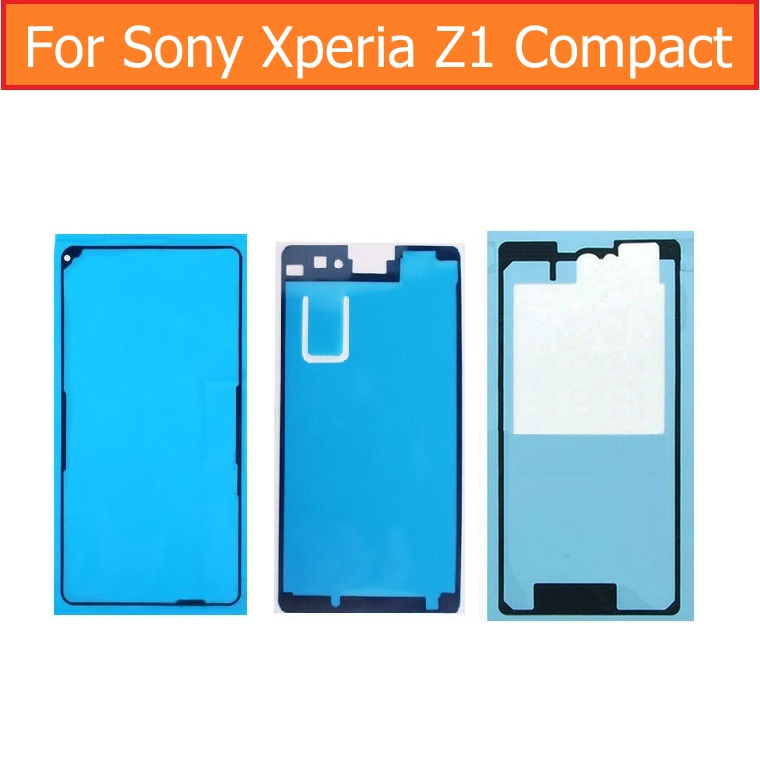 Original Display Adhesive Tape For Sony Xperia Z1 Mini M51W D5503 Rear Glass Housing Waterproof Glue For SONY Z1 Compact 3m Glue