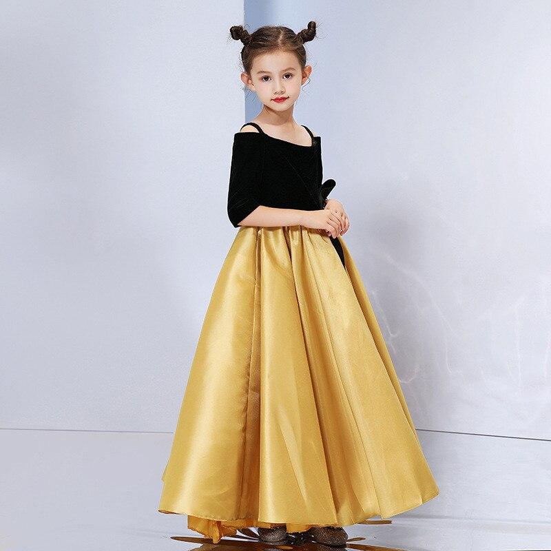 Mère fille enfants robe vêtements maman et enfants robe complète famille correspondant tenues bébé filles vêtements robe de soirée C0245 - 4