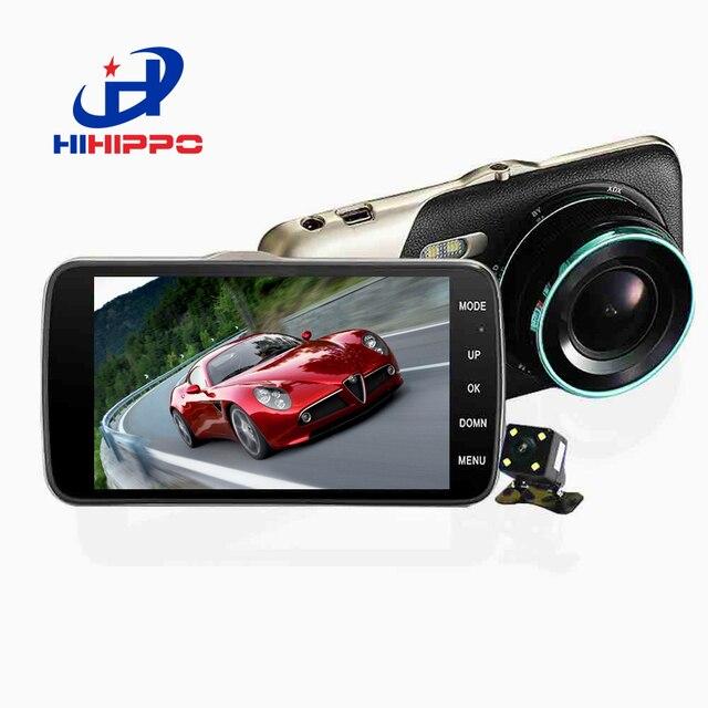 """Hihippo 4.0 """"экран 1080 P Full HD Автомобильный видеорегистратор 170 Угол обзора приборной панели камеры рекордер Автомобиль регистраторы g-сенсор, петля recordi"""