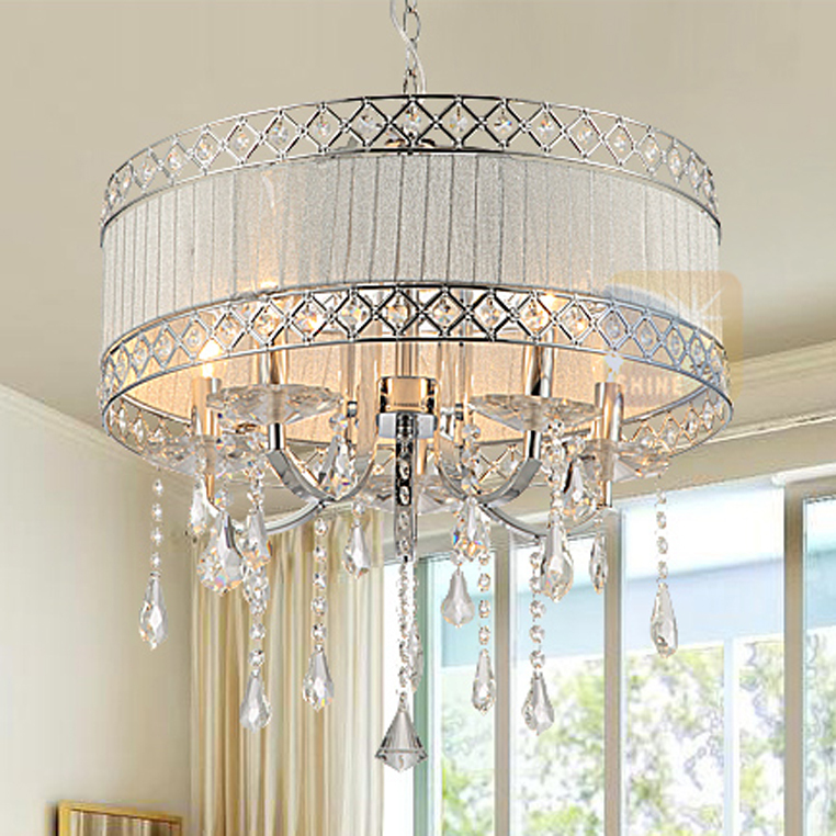 European Crystal Droplights American Modern Round Pendant Lights Fixture Home Indoor Bed Room Foyer Dining Room Lighting  D50cm румяна nyx professional makeup запеченные румяна baked blush baked blush journey 09
