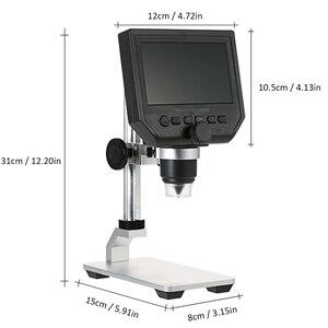 Image 2 - 600X デジタルビデオ顕微鏡 4.3 インチ液晶拡大鏡 microscopio 携帯電話メンテナンス QC/工業検査 + スタンド