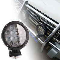 7 Inch 60W LED Work Light Floodlight 12V 24V Round LED Offroad Light Lamp Worklight For