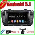 8 ''Quad Core Android 5.1 GPS Del Coche Para MAZDA 5 2009-2012/PREMACY 2009-2012 Con 16 GB de Flash de Radio Estéreo Multimedia Envío Libre