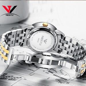 Image 5 - Relogio Masculino NIBOSI Luxury Simple นาฬิกาผู้ชายผู้ชายสแตนเลสปฏิทินวันที่และวันแฟชั่นนาฬิกา 2018 Saat