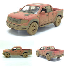 High simulation 1:46 scale Ford F150 pickup truck alloy alloy car model Raptor soil version pull back kids toys free shipping(China)
