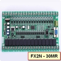 Plc программируемый логический контроллер одноместный плата плк FX2N плк 30MR онлайн монитор, STM32 MCU 16 вход 14 выход PLC119 #