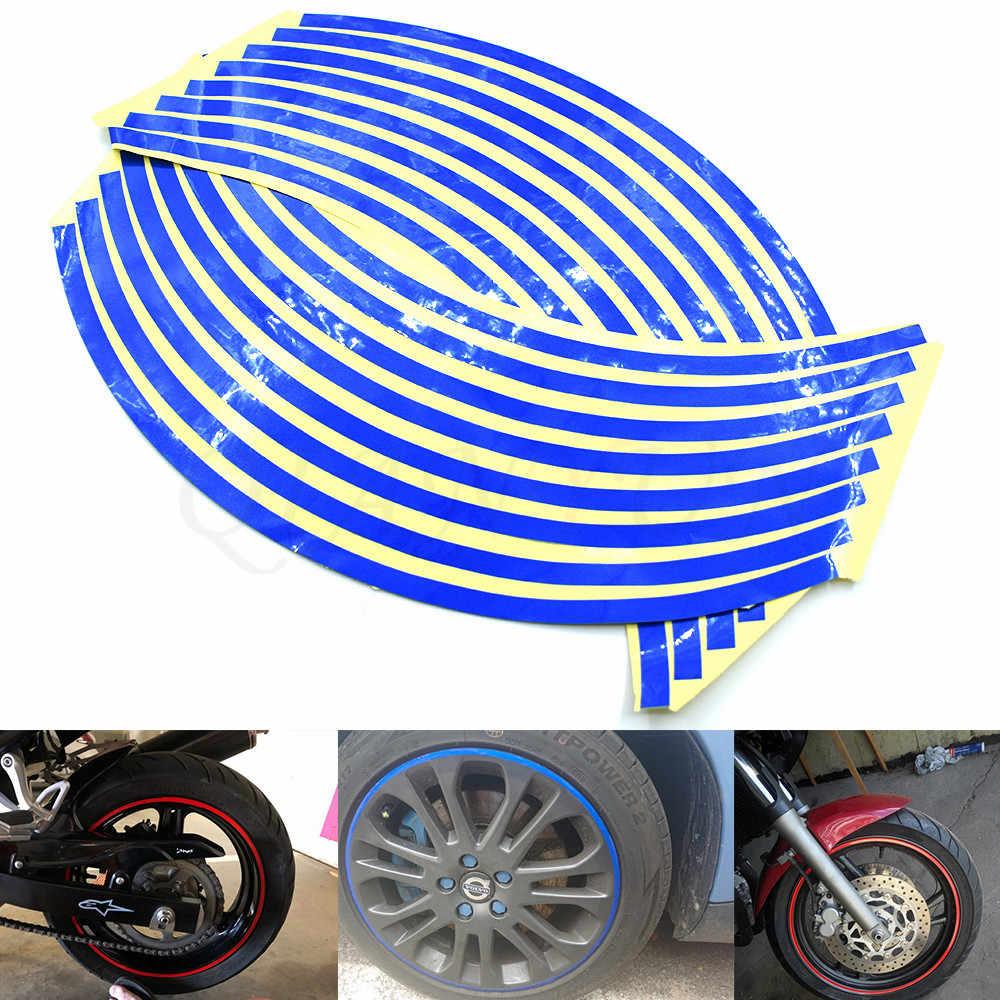 אופנוע סטיילינג גלגל רכזת צמיג רעיוני מדבקה לרכב דקורטיבי פס מדבקות לסוזוקי GSXR 1000 K1 K2 K3 K4 K5 k6 K7 K8 K9