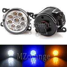 2pcs Fog Lamp Led Fog Lights Assembly Fog Light Super Bright For Renault Duster Megane Fluence Koleos Kangoo Thalia 2003-2015