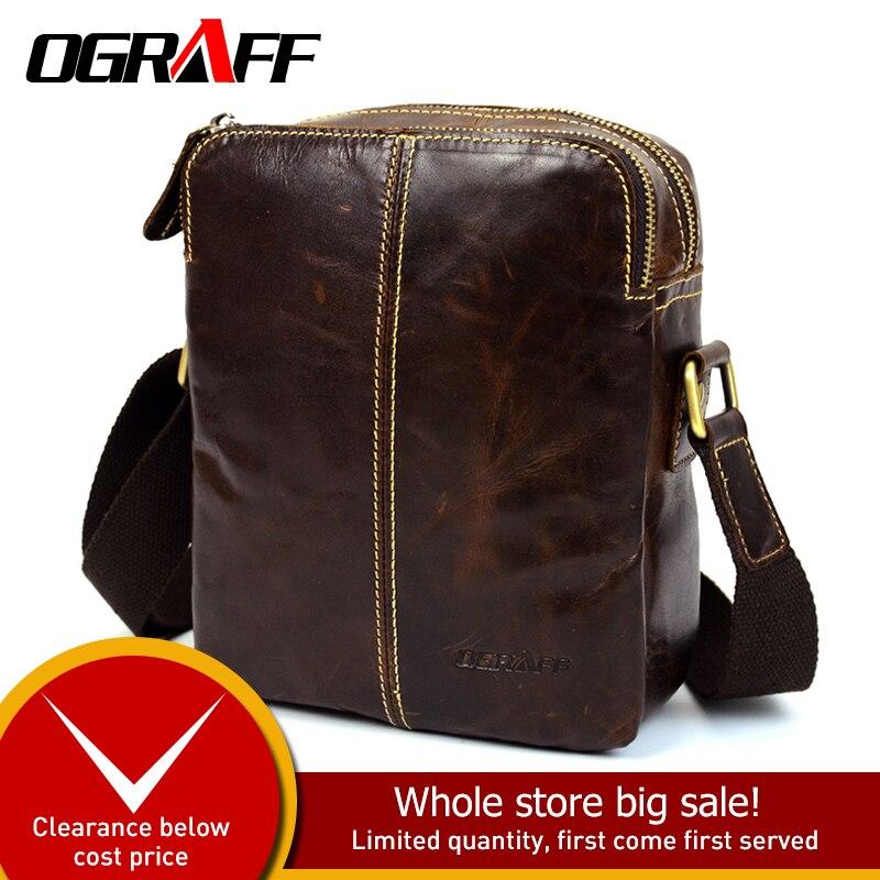 OGRAFF Designer männer tasche Aktentasche Männer Umhängetasche - Handtaschen