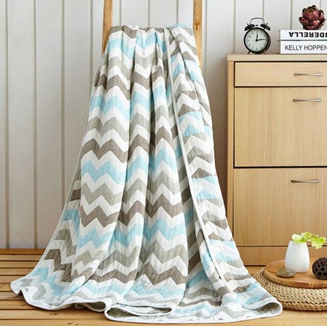 100 Baumwolle Gaze Frottee Bettdeckedecke Handtuch Bettdecke