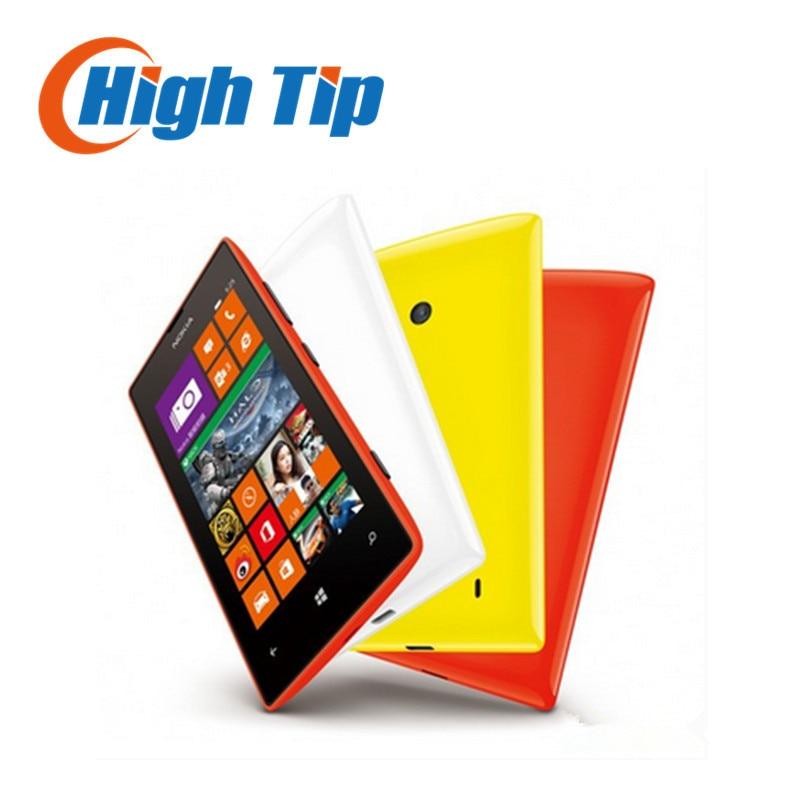 Original Nokia Lumia 525 Unlocked 1024MHz 4 0 TFT 5 0MP 8GB Dual Core GPS WIFI