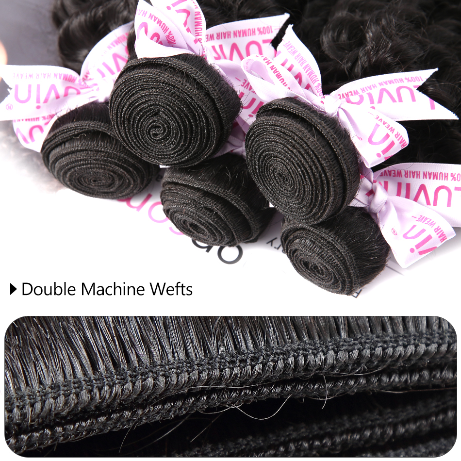HTB1y6CydjbguuRkHFrdq6z.LFXaR Luvin Deep Wave 28 30 inch 3 4 Bundles With 5x5 Lace Closure and 13x4 Frontal Brazilian Human Hair Weave Curly Remy Water Wave