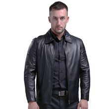 AIBIANOCEL Spring Men's Genuine Leather Jacket For Men Real Sheepskin Jaqueta De Couro Masculina Men Pure Leather Coat 4XL 1615