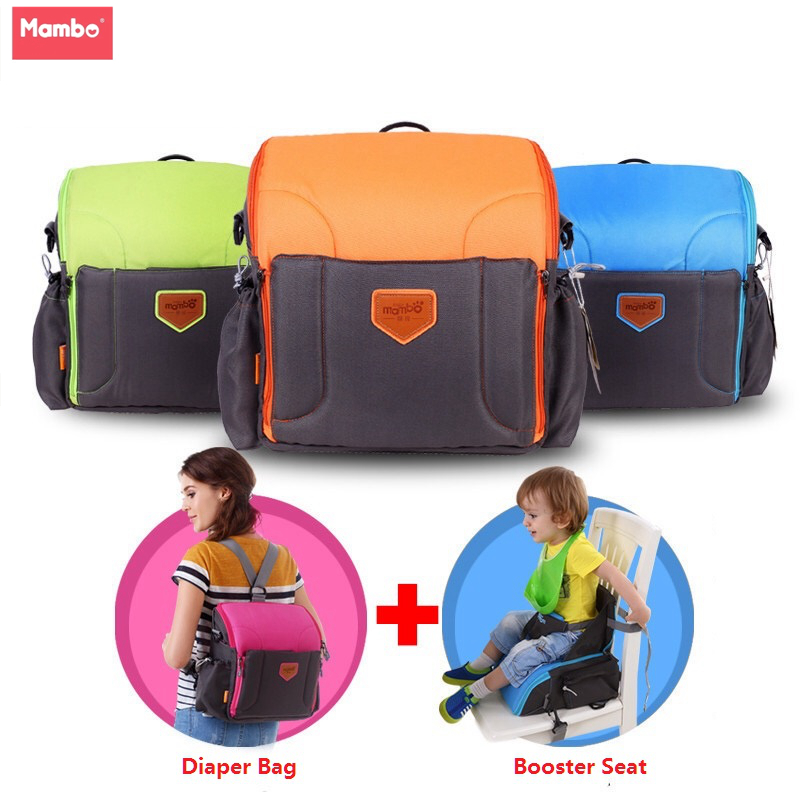 2 IN 1 Portable baby Booster Seats diaper dag for mom baby chair feeding mama sandalyesi