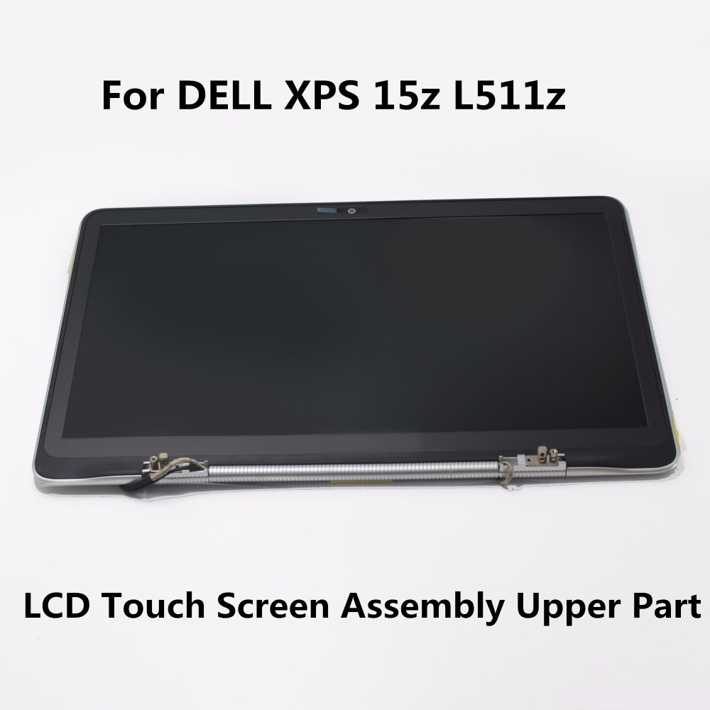 15.6'' B156HW03 V.0  For DELL XPS 15z L511z LCD Display Touch Screen Digitizer Full Assembly Outer Glass Panel Repair Upper Part  14 original new lcd screen display lcd screen lp140wh6 tj a1 lp140wh6 for dell xps 14z l412z display 0jyf5y 0fx8h0