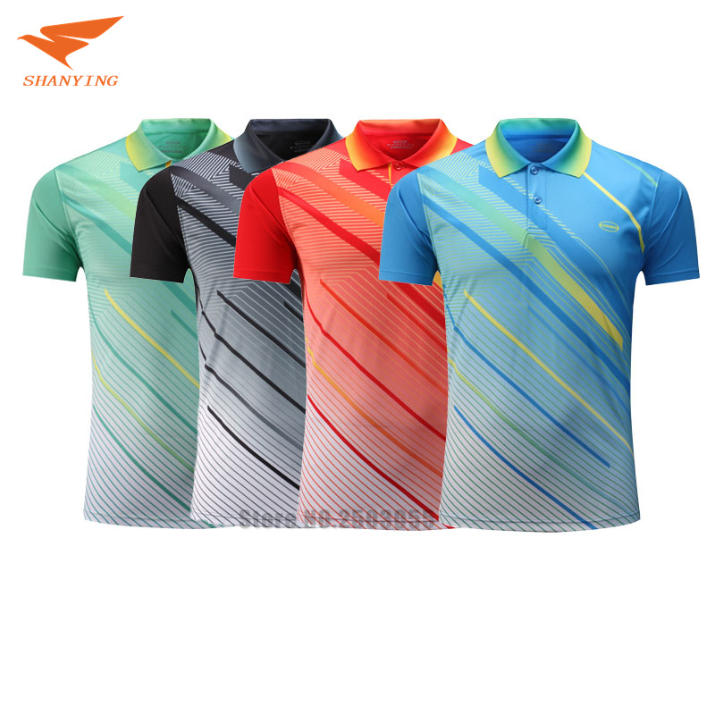 2017/2018 men table tennis shirt men's sportswear short ...