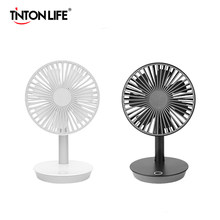 Tabelle Fan Mini Tragbare USB Super Stumm Laptop Kühler Kleine Fan Büro Computer Desktop Fan 4 Geschwindigkeit Winkel Einstellbar(China)